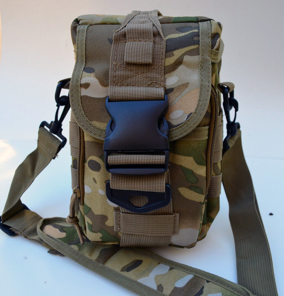 Acid Tactical? MOLLE First Aid Bag Pouch Trauma MultiCam Camo EMT Medic Utility