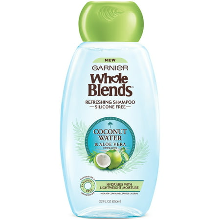 garnier whole blends coconut water aloe vera extract refreshing shampoo 22 fl oz bottle. Black Bedroom Furniture Sets. Home Design Ideas