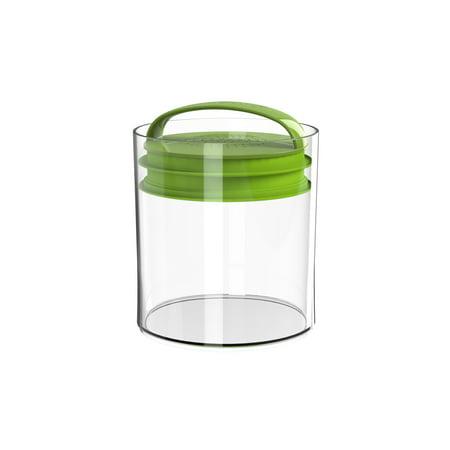 Prepara Green Grocer Super Savor Vacuum Seal Food Storage Container, Green
