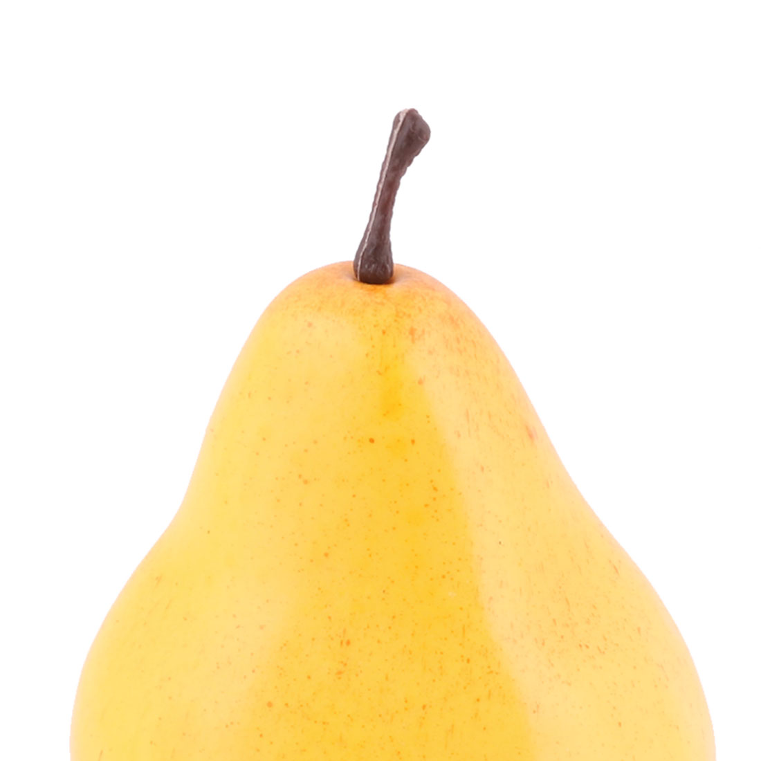 Household Table Decor Foam Handmade Simulation Artificial Fruit Pear Yellow 3pcs - image 2 of 3