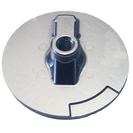 Zinc Anode Plate (Tecnoseal Trim Plate Anode Zinc Flat Merc Alpha 1 Gen 2)