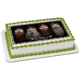 Duck Dynasty Happy Happy Edible Icing IMage (1 4 SHeet) by Whimsical Practicality