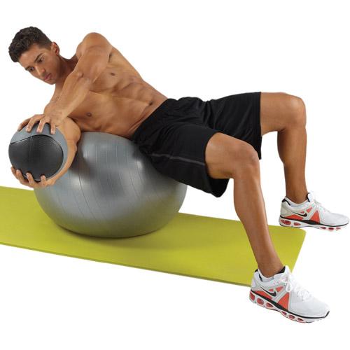 Pure Fitness Yoga Mat, Limey Yellow