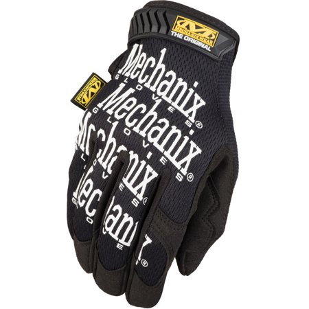 Mechanix Wear Original Glove, Black, Size (Mechanix Womens Glove)