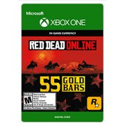 Red Dead Redemption 2 55 GOLD BARS, Rockstar Games, Xbox, [Digital Download]
