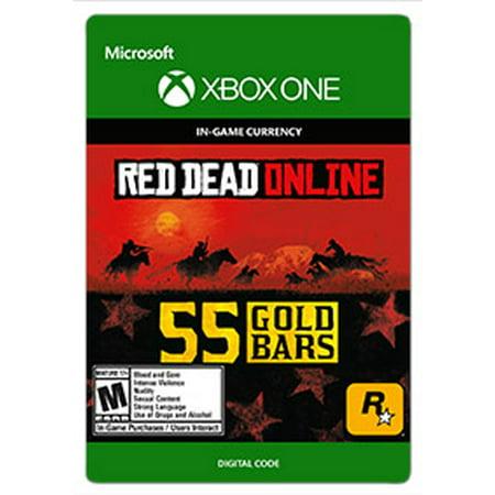 Red Dead Redemption 2 55 GOLD BARS, Rockstar Games, Xbox, [Digital