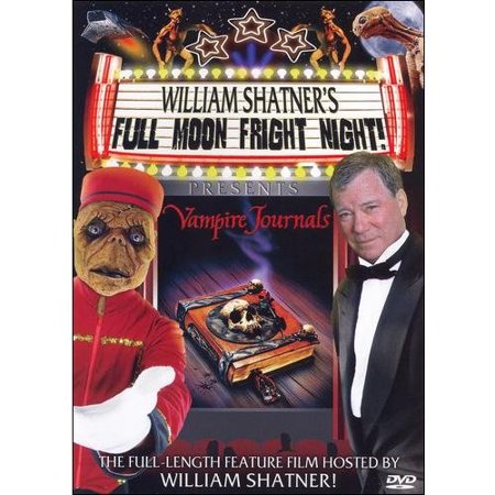 William Shatner's Full Moon Frightnight Presentes Vampire Journals