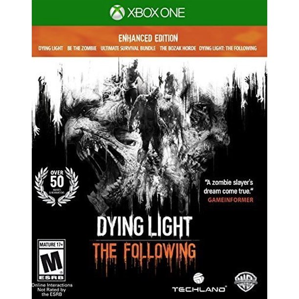 Dying Light: Following Enhanced Edition, WHV Games, Xbox One, 883929530502