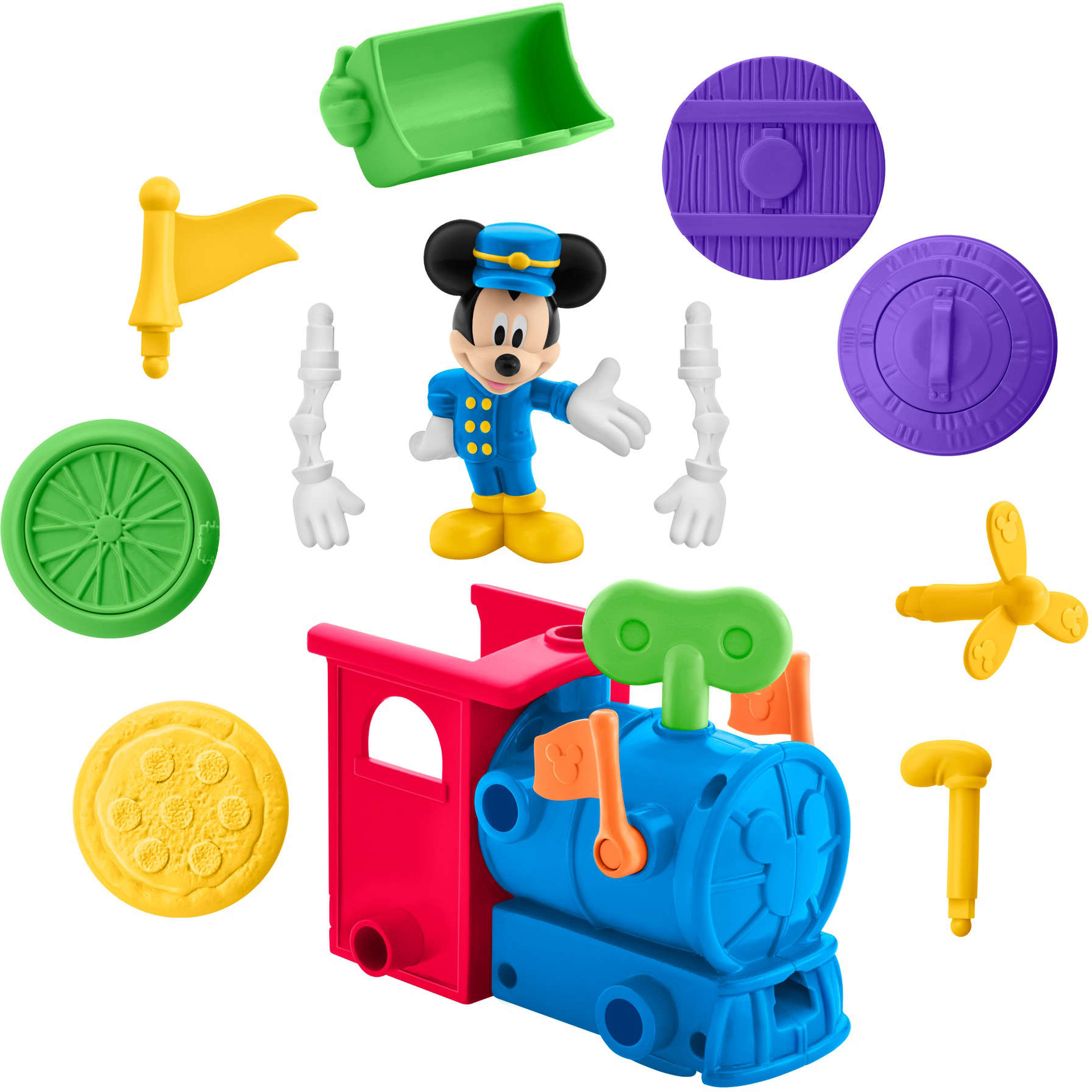 Disney Mickey Mouse Clubhouse Mouska-Maker Wind-Up Express by ZHONG SHAN SEWCO TOYS &