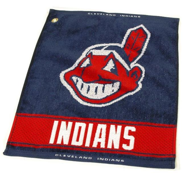 Team Golf 95780 Cleveland Indians Woven Towel