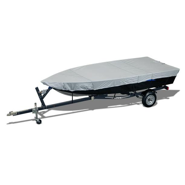 Seachoice 97721 Semi-Custom Cover for Jon Boat – Haze Gray – Fits 16 Foot, 6 Inch Boat – 72 Inch Beam