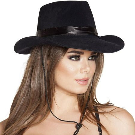 Cowboy Hat Costume Accessory (Black)](Costum Cowboy)