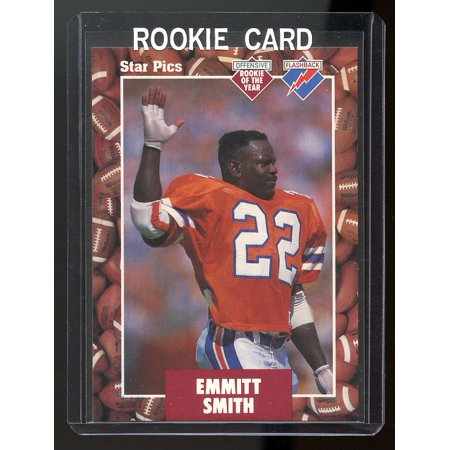 1991 Star Pics Top Prospects #20 Emmitt Smith Florida State Rookie Card