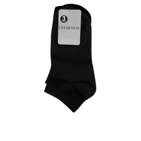 Charnos Hosiery Womens Socks Plains 3 Pack Trainer Socks One Size (Charnos Pantyhose)