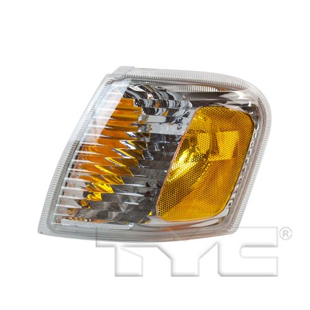 CarLights360: Fits 2001 2002 2003 2004 2005 Ford Explorer Sport Trac Turn Signal / Parking Light Assembly Driver Side (Left) DOT Certified  - Replacement for FO2520164 (2003 Explorer Turn Signal)