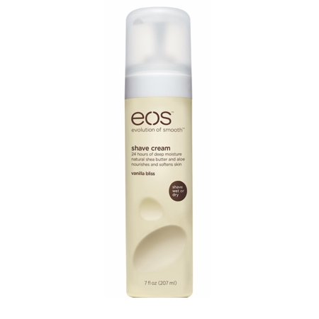 (2 pack) eos Ultra Moisturizing Shave Cream, Vanilla Bliss, 24 hours of deep moisture, 7 (Best Shaving Cream For Women)