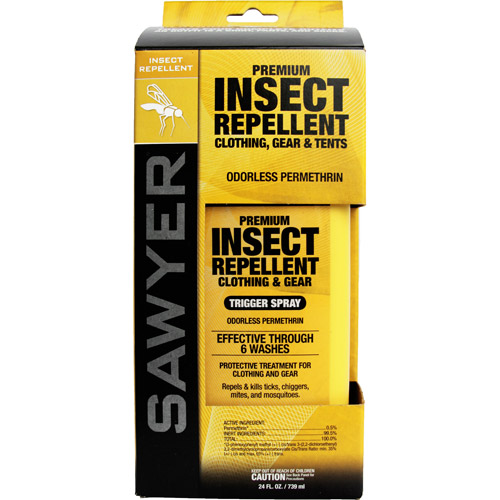 Sawyer Permethrin Premium Clothing Insect Repellent Pump, 24 oz