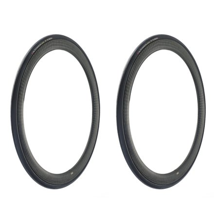 Hutchinson FUSION 5 Performance Tubeless Ready Bike Tires, 2-Pack, 700x25