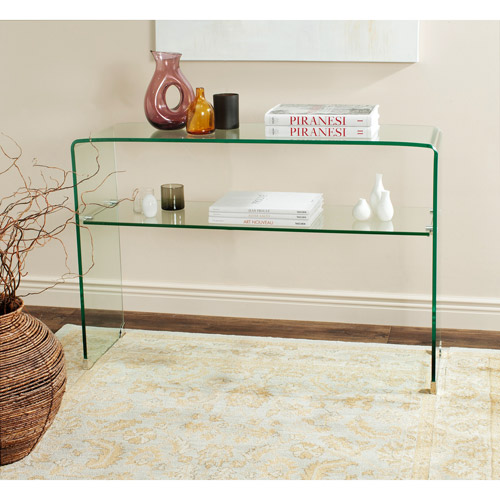 Safavieh Hollis Console Table, Clear