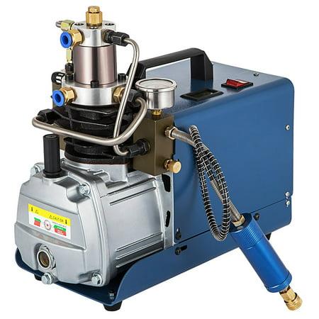 Mophorn 110V 300BAR 30MPA 4500PSI High Pressure Air Pump Electric Air Compressor for Airgun Rifle PCP Inflator (air pump)