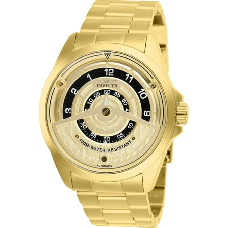 Invicta Automatic Watches - Invicta Men's 25958 S1 Rally Automatic 2 Hand Gold Dial Watch