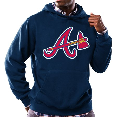 "Atlanta Braves Majestic MLB ""Scoring Position"" Mens Hooded Sweatshirt by"