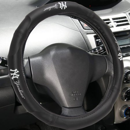 "MLB New York Yankees Steering Wheel Cover (Made to fit 14.5""-15.5"" steering wheels](Mlb Shop Nyc)"