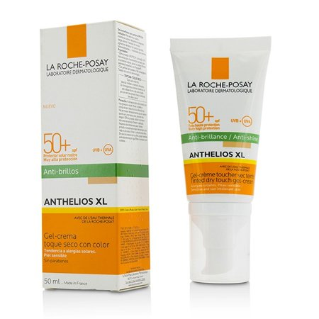 Laroche Posay Sun Protection Cream - La Roche Posay Anthelios XL Tinted Dry Touch Gel-Cream SPF50+ - Anti-Shine 50ml/1.7oz