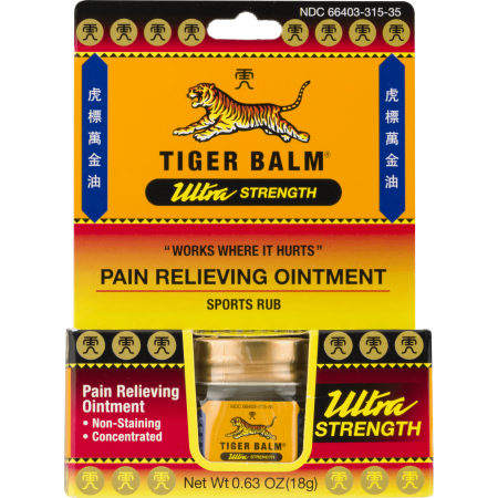 Ultra Strength Pain Relieving Ointment Non-Staining 18 (Best Muscle Rub For Neck Pain)