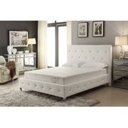 8-Inch Memory Foam Mattress Covered in a Soft Aloe Vera Fabric, Twin XL. Available in Various Sizes
