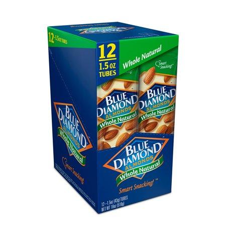 Blue Diamond ® Whole Natural Almonds 12-1.5 oz. Box