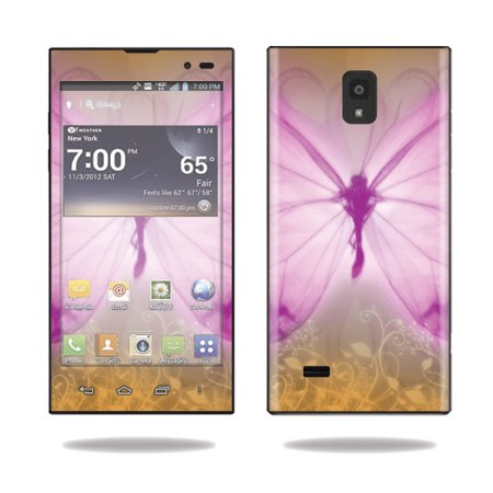 Skin Decal Wrap for LG Spectrum 2 Cell Phone sticker Butterfly Love