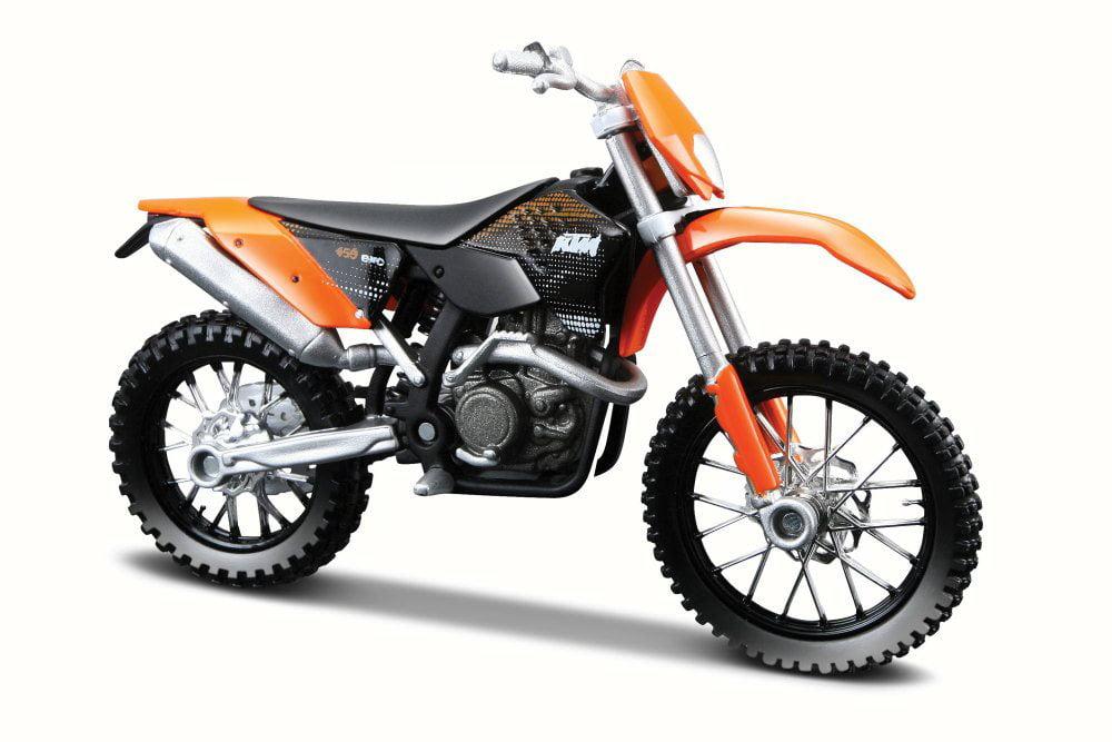 KTM 450 EXC Dirtbike Motorcycle, Black & Orange Maisto 31300 450 1 18 Scale Diecast Model... by KTM