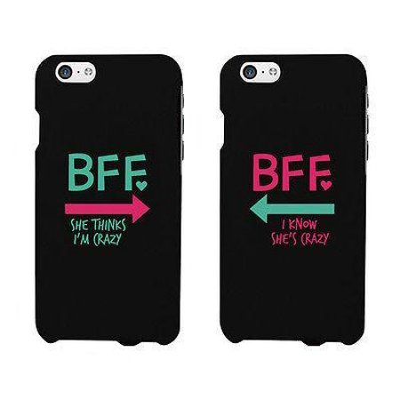 BFF Mint Pink Arrow Cute BFF Matching Phone Cases For Best