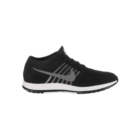 Nike Flyknit Streak Black / Dark Grey White Low Top Running Shoe - 13M 11.5M - image 2 de 5