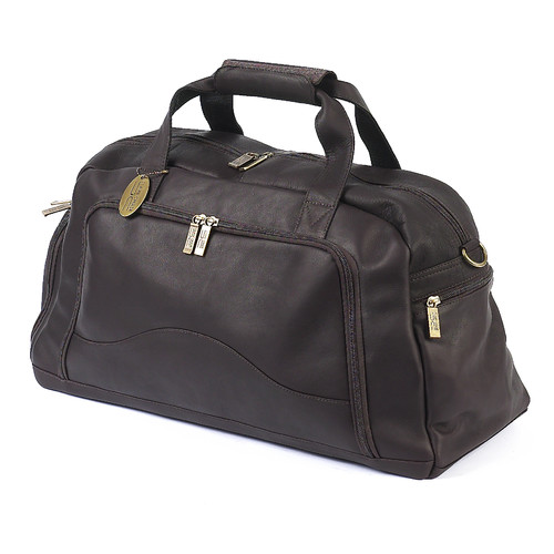 Claire Chase 9'' Leather Carry-On Duffel