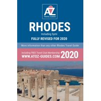 A to Z guide to Rhodes 2020, Including Symi (Paperback)