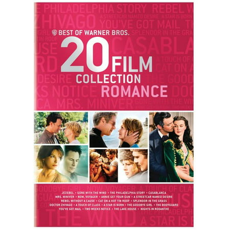 Best of Warner Bros.: 20 Film Collection Romance (DVD)