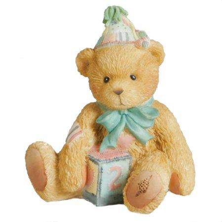 Cherished Teddies 911321 Two Sweet Two Bear - Birthday Bear Age 2 Figurine