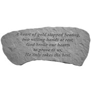 Kay Berry 37420 A heart of gold...Sm Bench