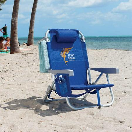 Tommy Bahama Backpack Beach Chair Blue Walmart Com