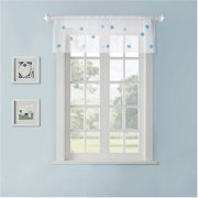 Home Essence Teen Shelby Rod Pocket Sheer Window Valance