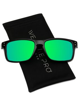 7b292d8fea Product Image WearMe Pro - Premium Polarized Sport Mirror Lens Classic  Square Style Sunglasses