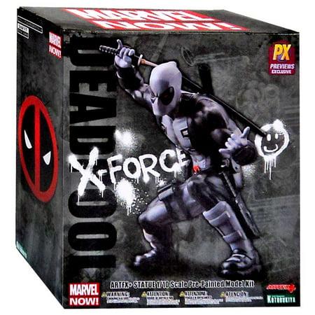 Deadpool Stats (Marvel ArtFX Marvel Now Deadpool Exclusive 1/10 Statue [X-Force)