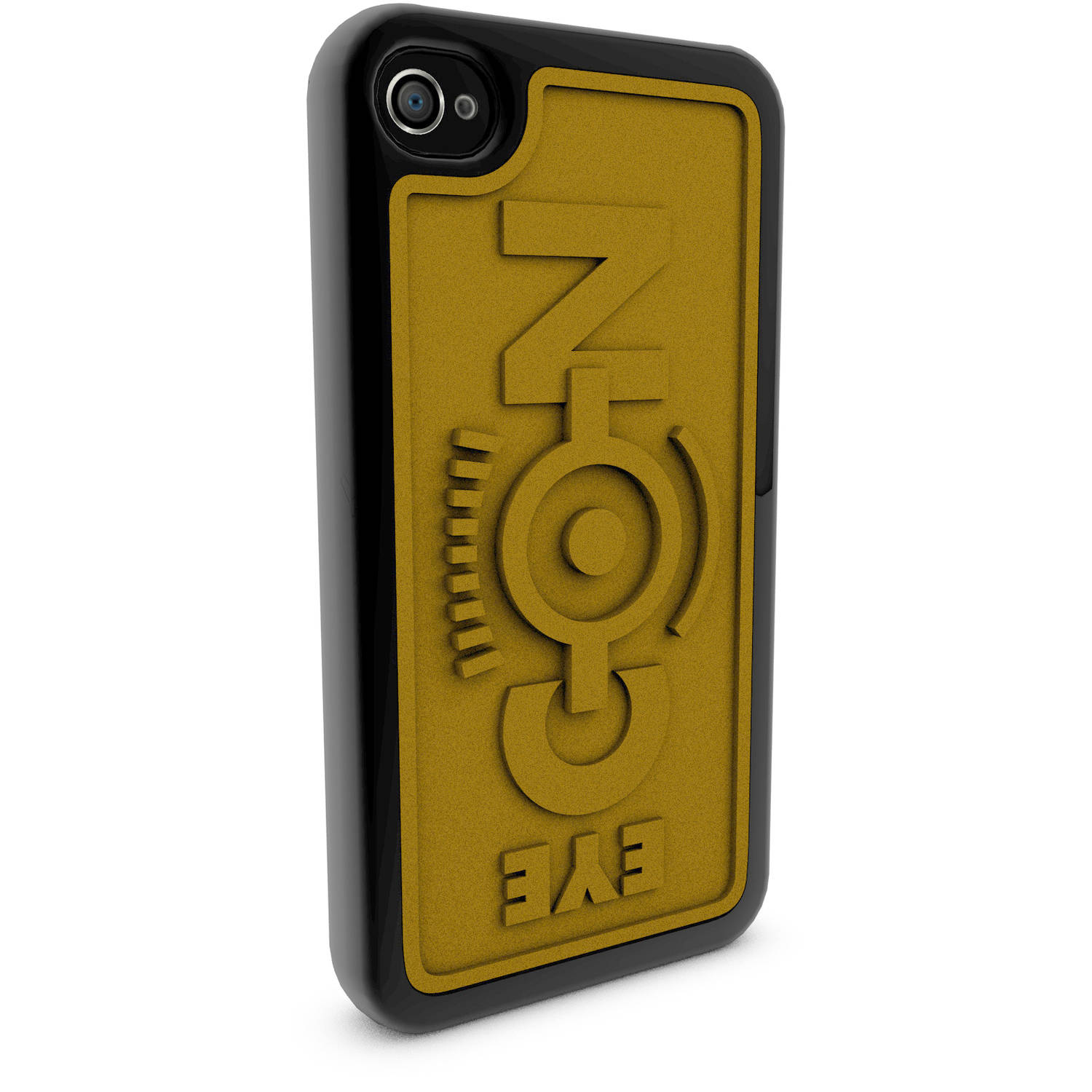 Apple iPhone 4 and 4S 3D Printed Custom Phone Case - Despicable Me - Eye-Con