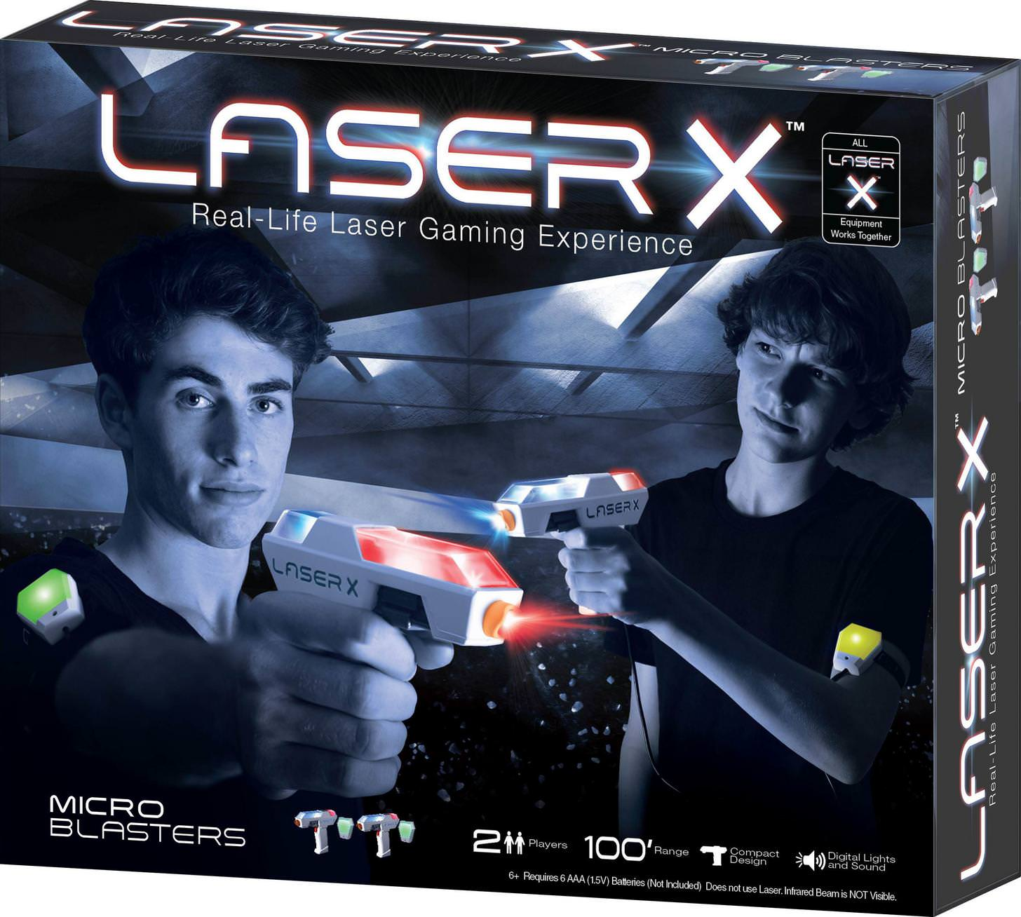 Steady Laser X Tag Double Set Electronic & Interactive Toys & Hobbies