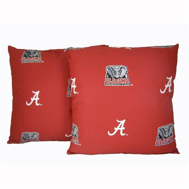 College Covers ALADPPR Alabama 16 x 16 Decorative Pillow Set