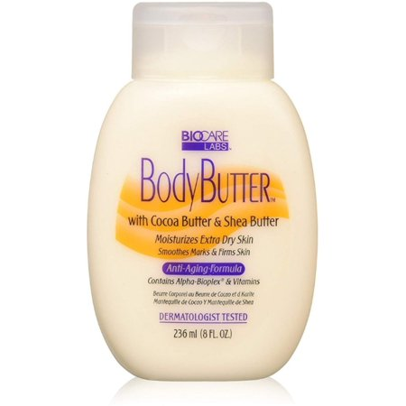 3 Pack - Biocare Body Butter With Cocoa Butter & Shea Butter, 8 oz 1