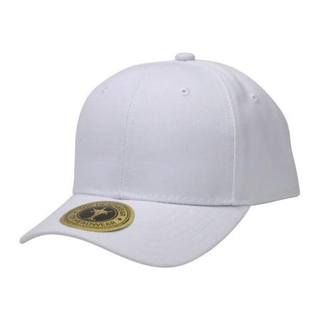 Top Headwear Adjustable Baseball Cap Hat  White
