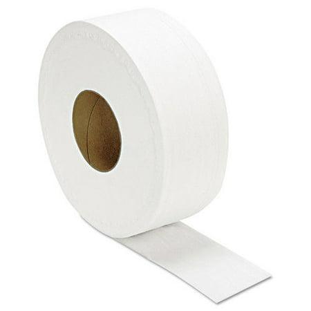 - GEN Junior Roll 2-Ply Jumbo Bathroom Tissue, 12 rolls